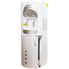 Кулер для воды Aqua Work 28-L-B/B бело-серебристый (с холодильником)