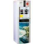 Кулер для воды Aqua Work 16-LD/EN Мишки на севере-на заказ