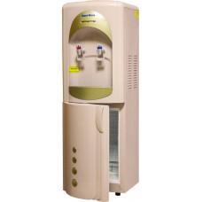 Кулер для воды Aqua Work 28-L-B/B бежево-золотой (с холодильником)