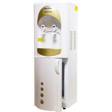 Кулер для воды Aqua Work 28-L-B/B бело-золотой (с холодильником)