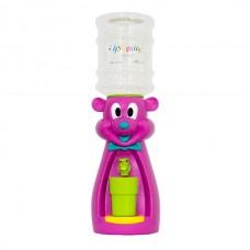 Детский кулер для воды Мышка фиолетовая с желтым - АкваНяня