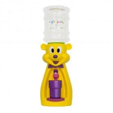 Детский кулер для воды Мышка желтая с фиолетовым - АкваНяня