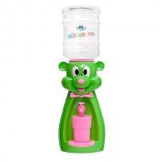 Детский кулер для воды Мышка салатовая с розовым - АкваНяня