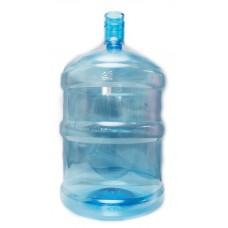 Многооборотная бутыль ПЭТ 19л для питьевой воды